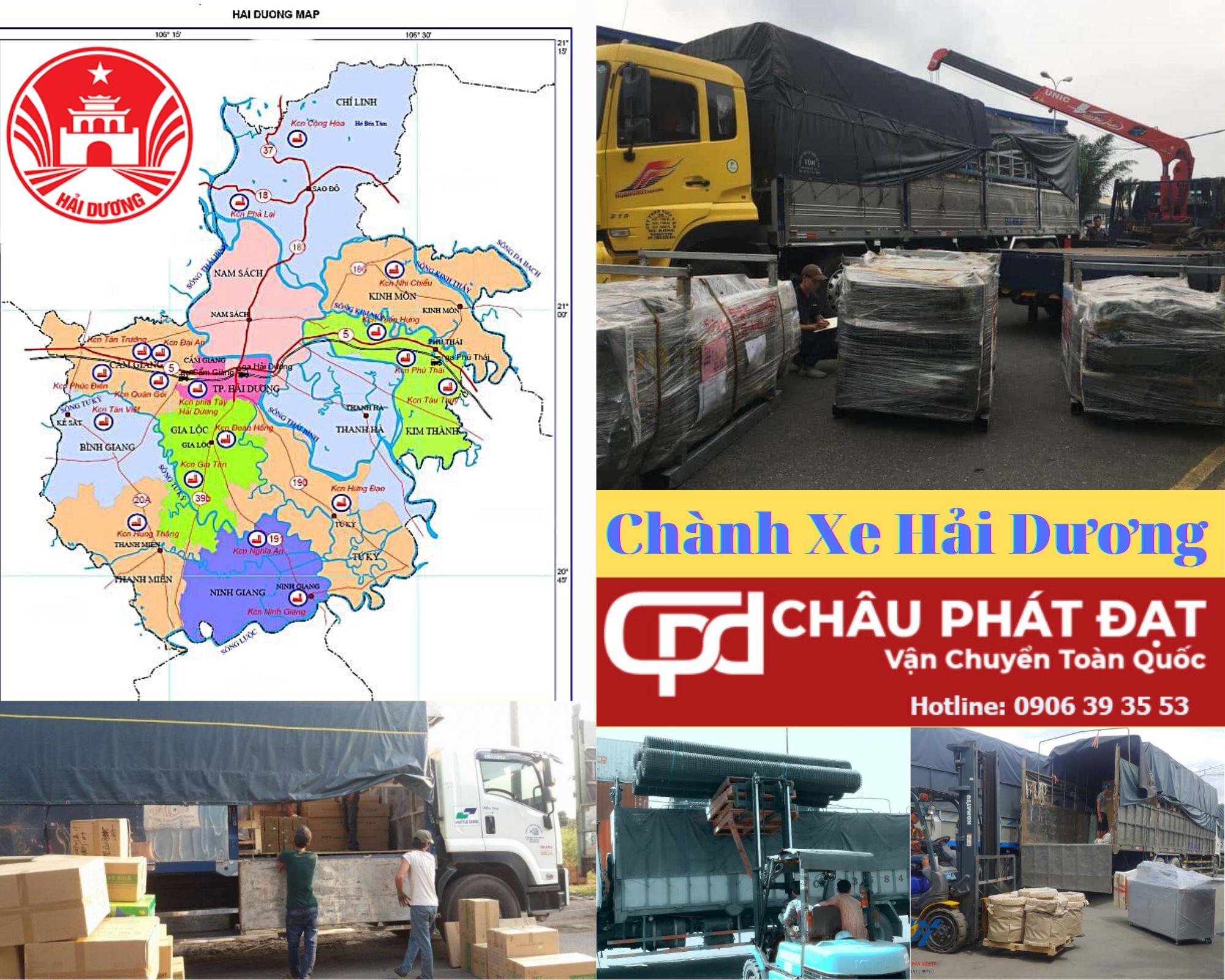 Cho Thuê Xe Tải Sài Gòn Hải Dương