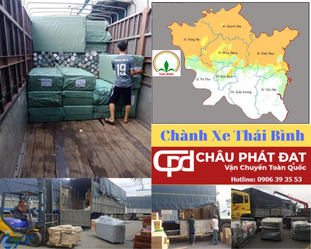 Chở Hàng Ghép Sài Gòn Thái Bình