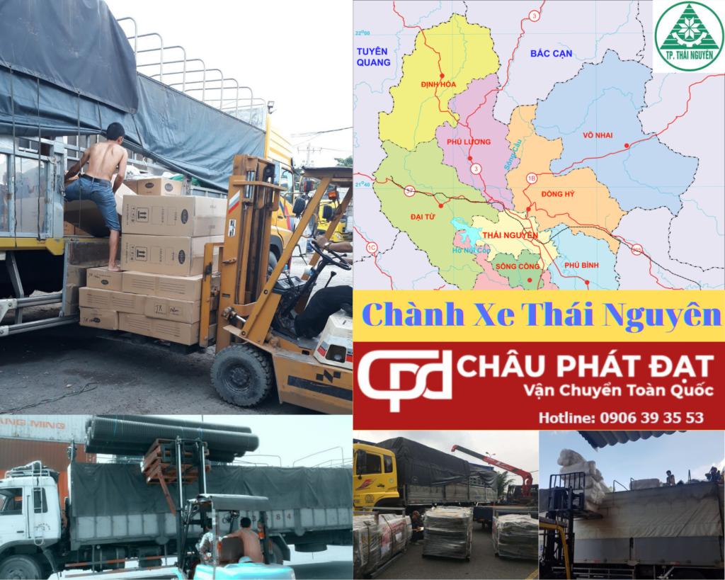 Cho Thuê Xe Tải Sài Gòn Thái Nguyên
